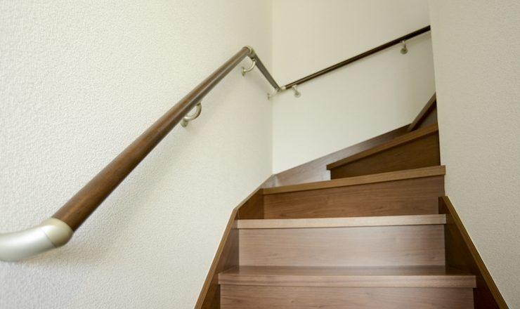 階段手すりの写真