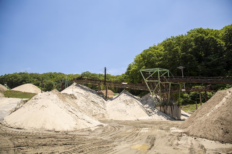 恵那峡サンド業務風景