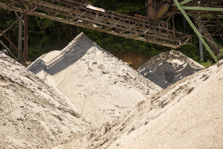 恵那峡サンド事業部業務風景