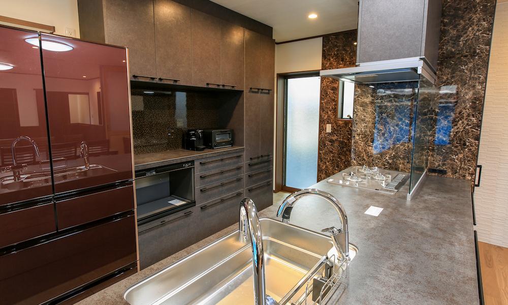 新築住宅キッチン